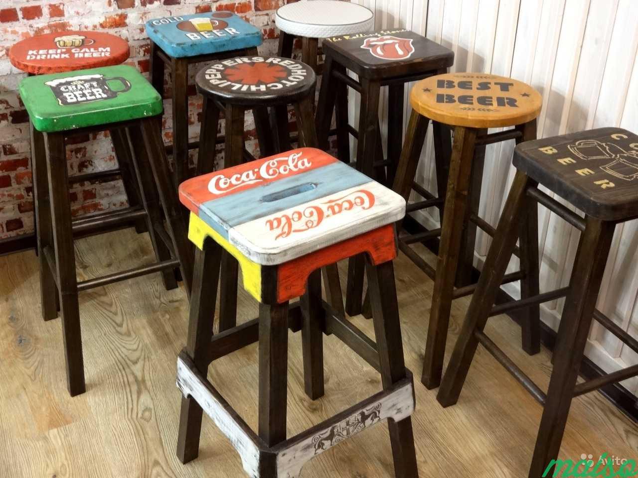 Барные стулья барный стул массив венге в Москве. Фото 10
