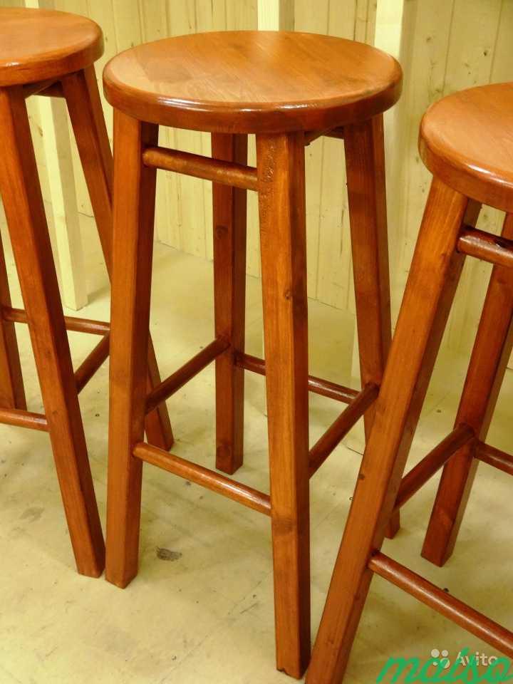 Барные стулья барный стул массив венге в Москве. Фото 4