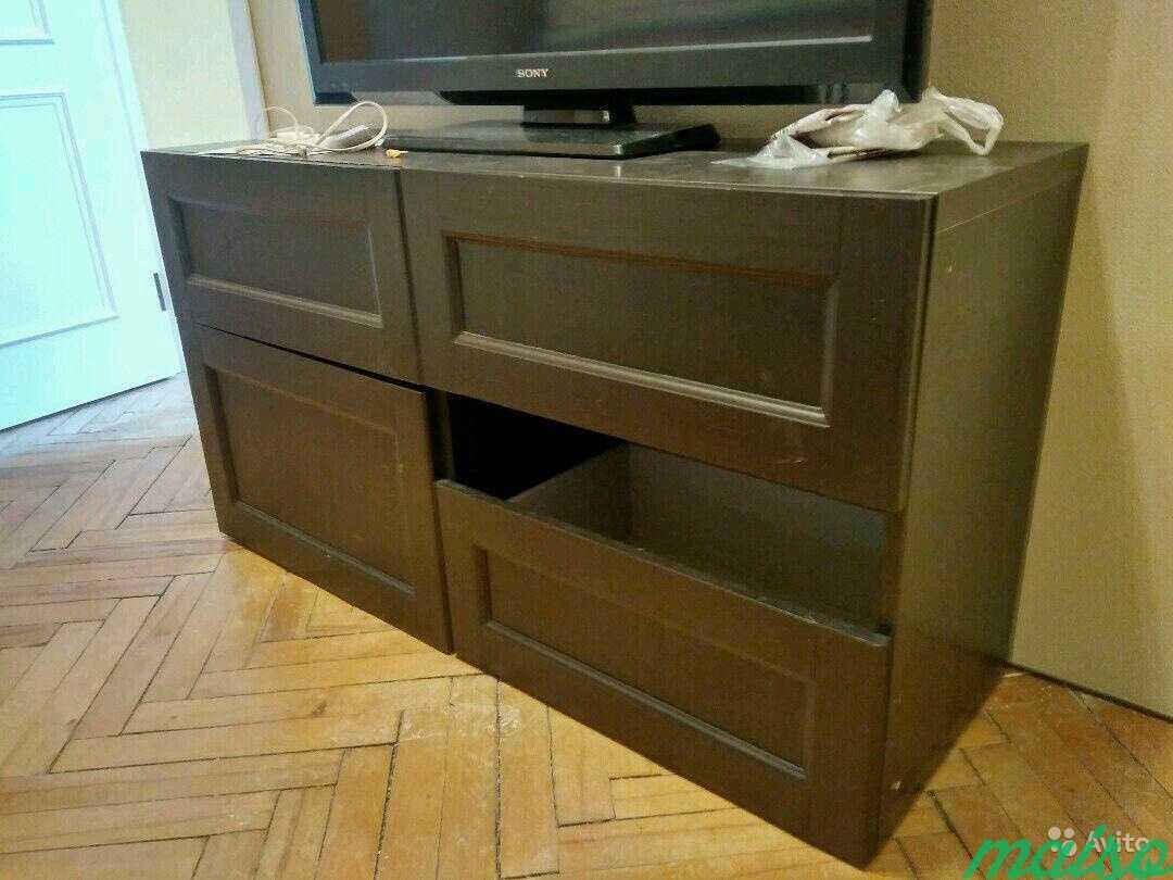 Система шкафов IKEA besta в Москве. Фото 5