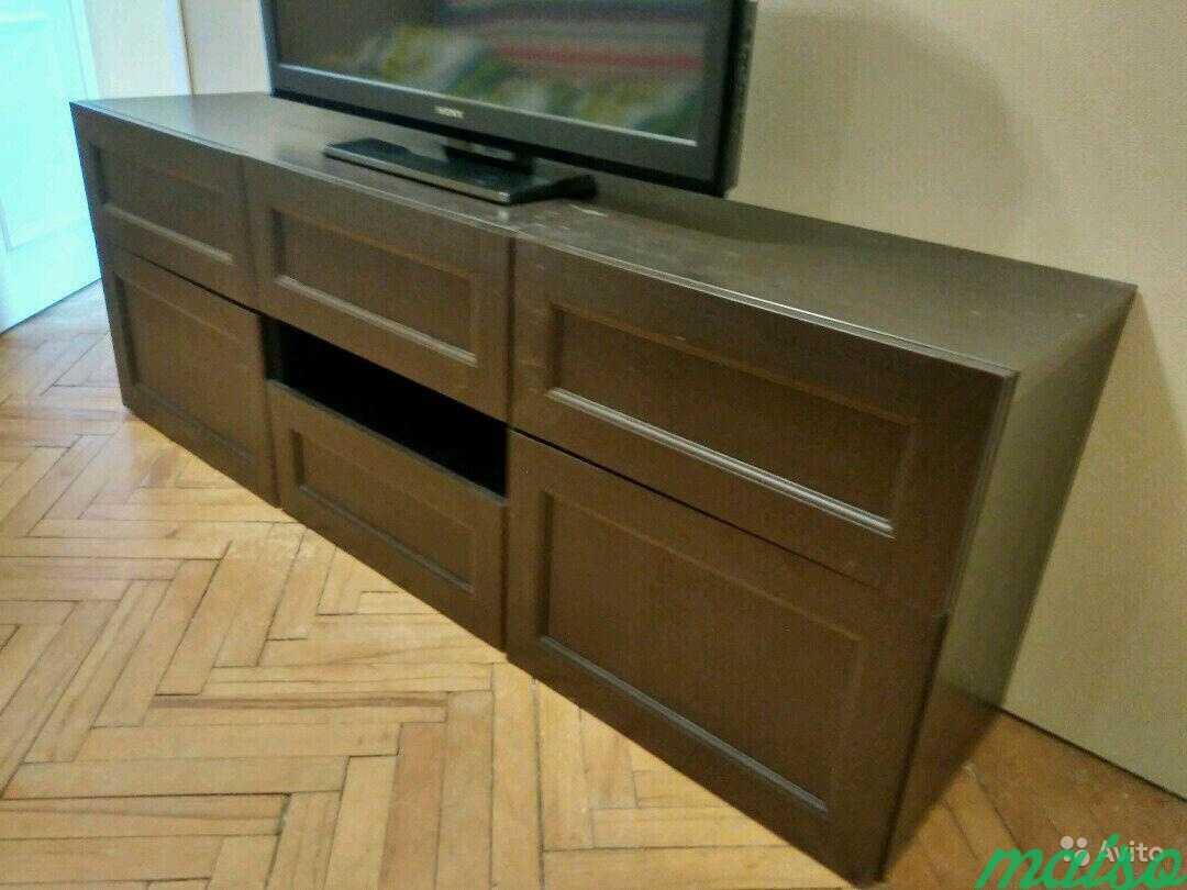 Система шкафов IKEA besta в Москве. Фото 8