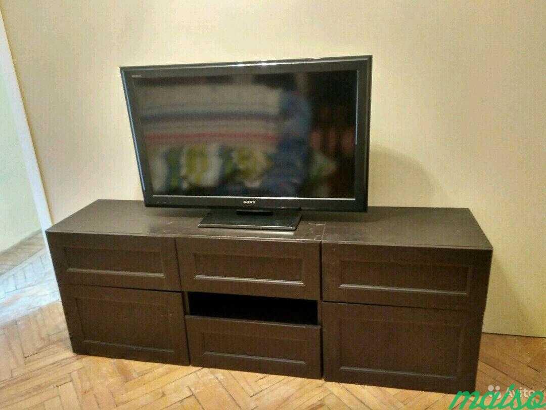 Система шкафов IKEA besta в Москве. Фото 9