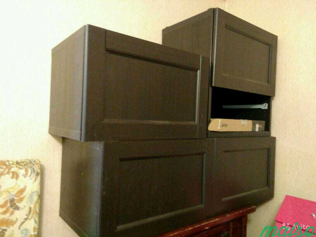 Система шкафов IKEA besta в Москве. Фото 4