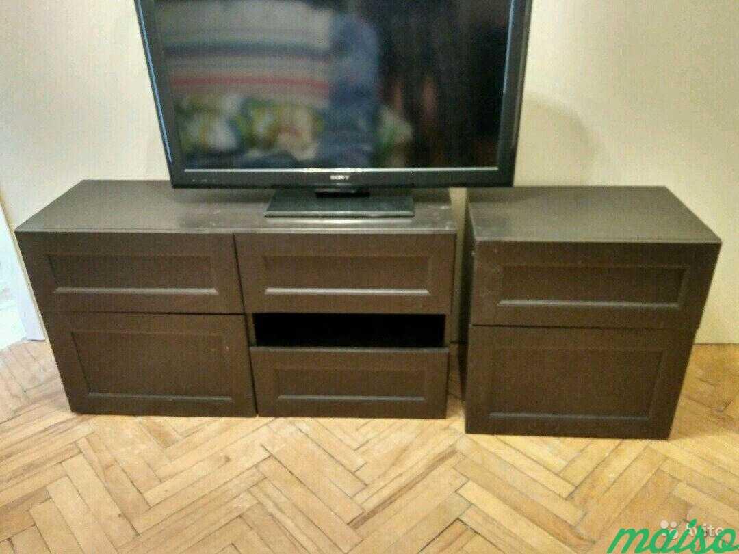 Система шкафов IKEA besta в Москве. Фото 10