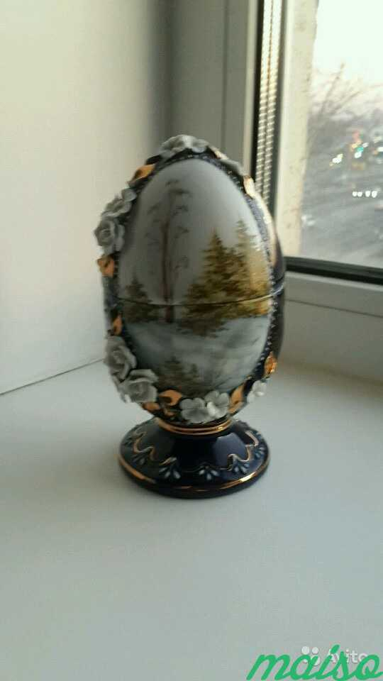 Шкатулка-яйцо в Москве. Фото 1