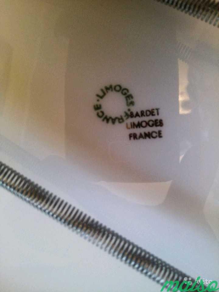 Тарелки Франция Лимож в Москве. Фото 7