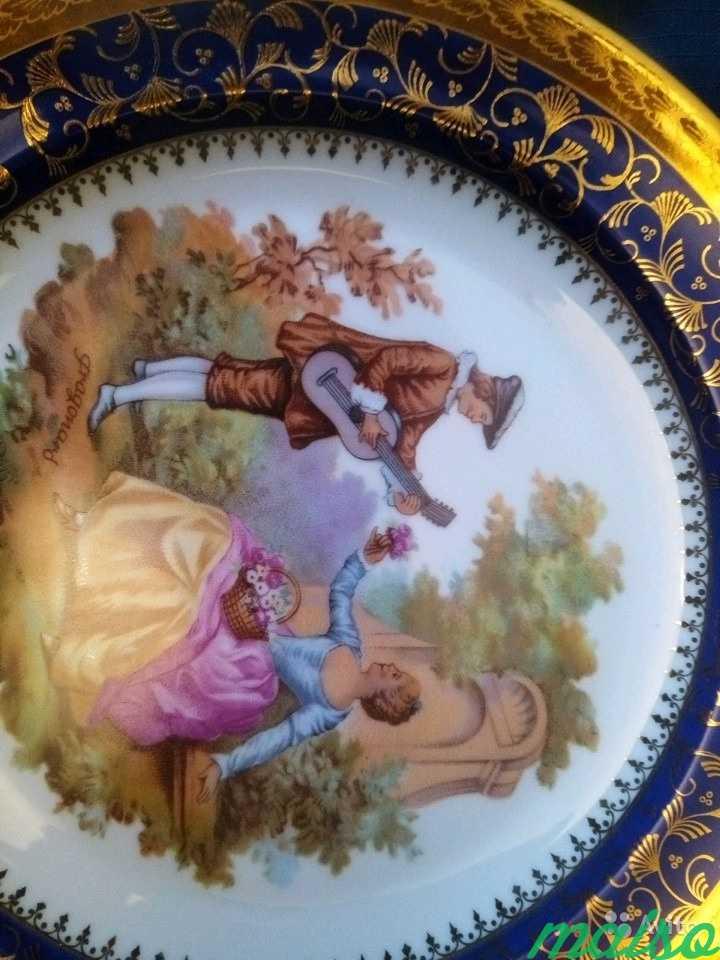 Тарелки Франция Лимож в Москве. Фото 4