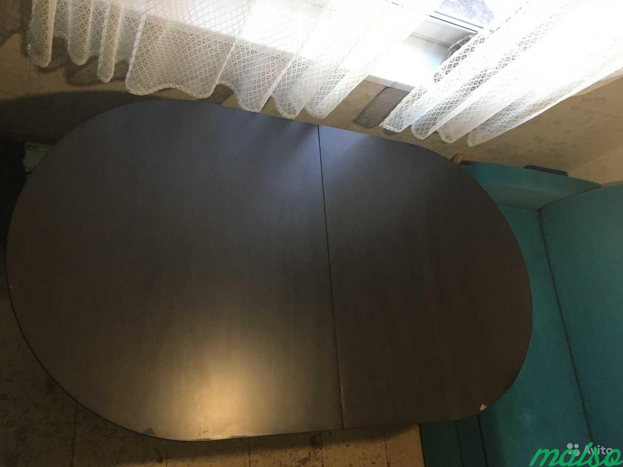 Стол обеденный овальный раскладной в Москве. Фото 2