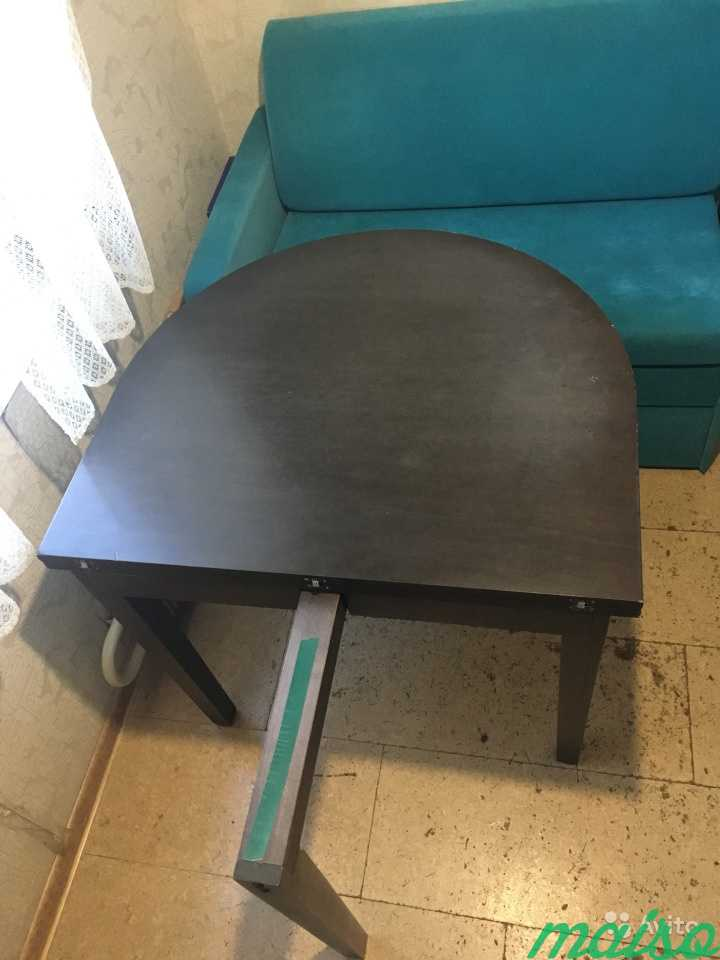 Стол обеденный овальный раскладной в Москве. Фото 3