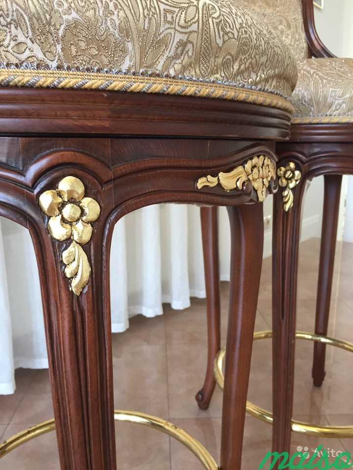 Новые барные стулья Angelo Cappellini с поворотным в Москве. Фото 3