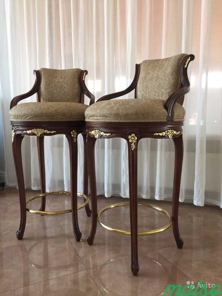 Новые барные стулья Angelo Cappellini с поворотным в Москве. Фото 1