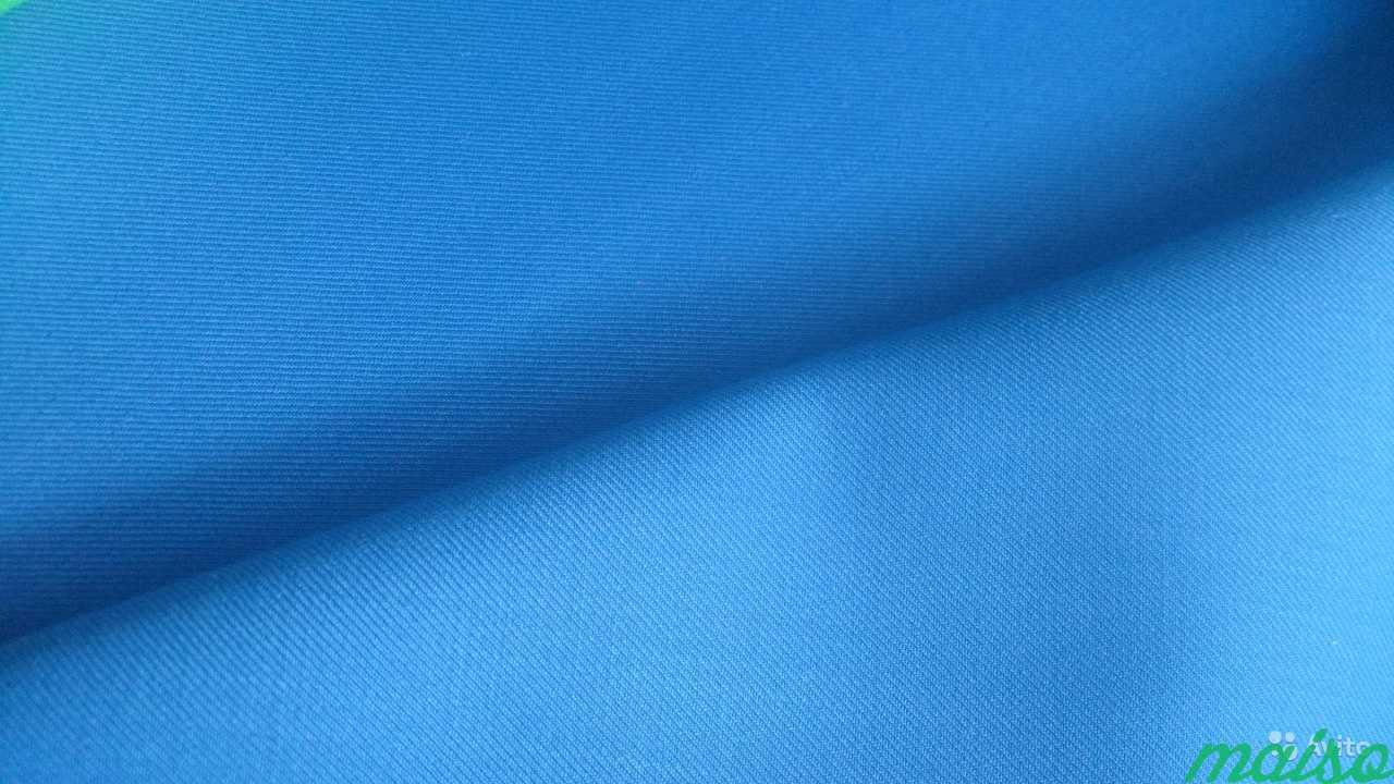 Синие ткани в Москве. Фото 2