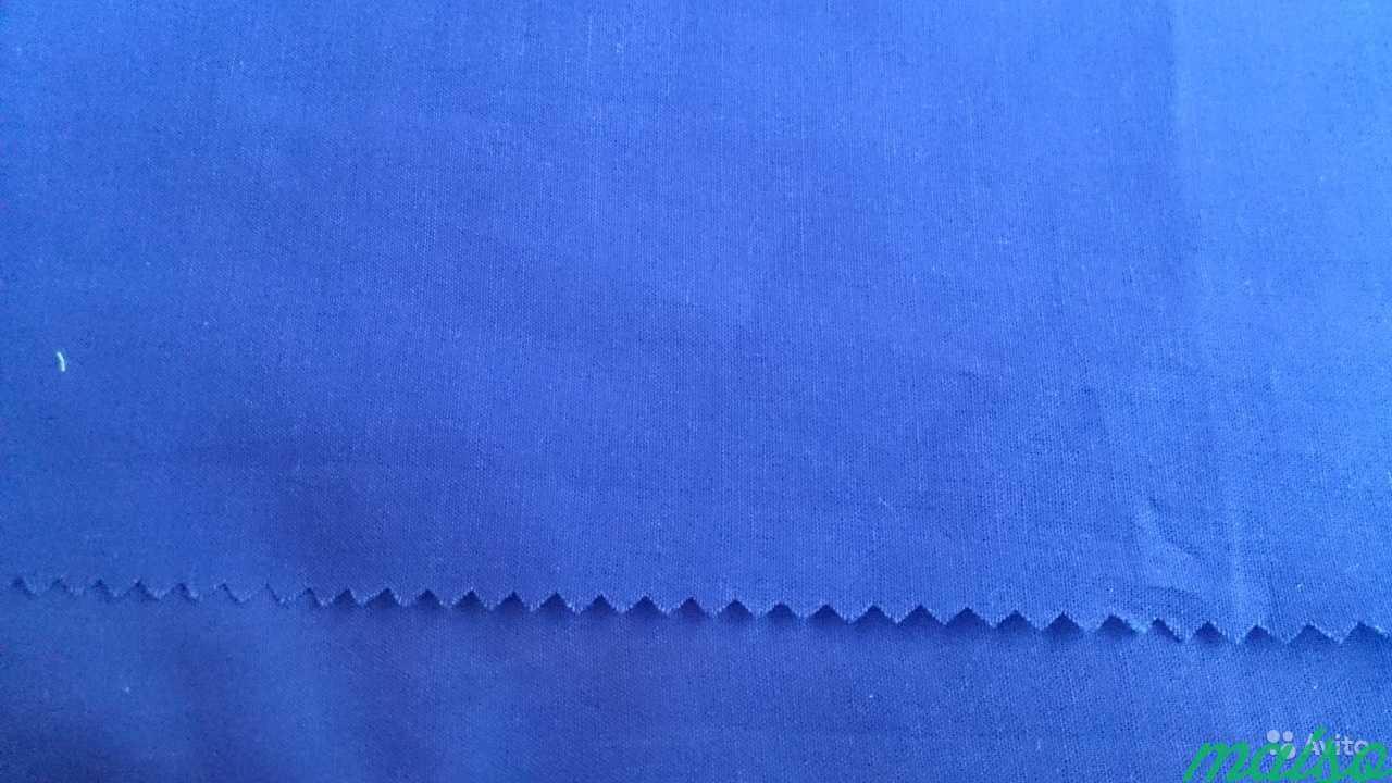 Синие ткани в Москве. Фото 3