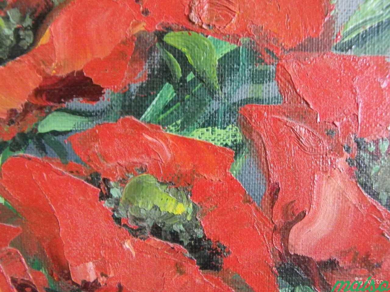 3 Картины маки,розы,сирень(авторской работы 2006г) в Москве. Фото 4