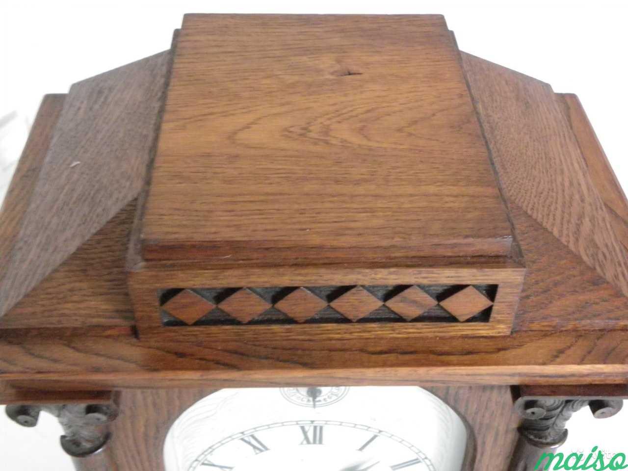 Старинные четвертные немецкие часы(к.-19 века.) в Москве. Фото 6