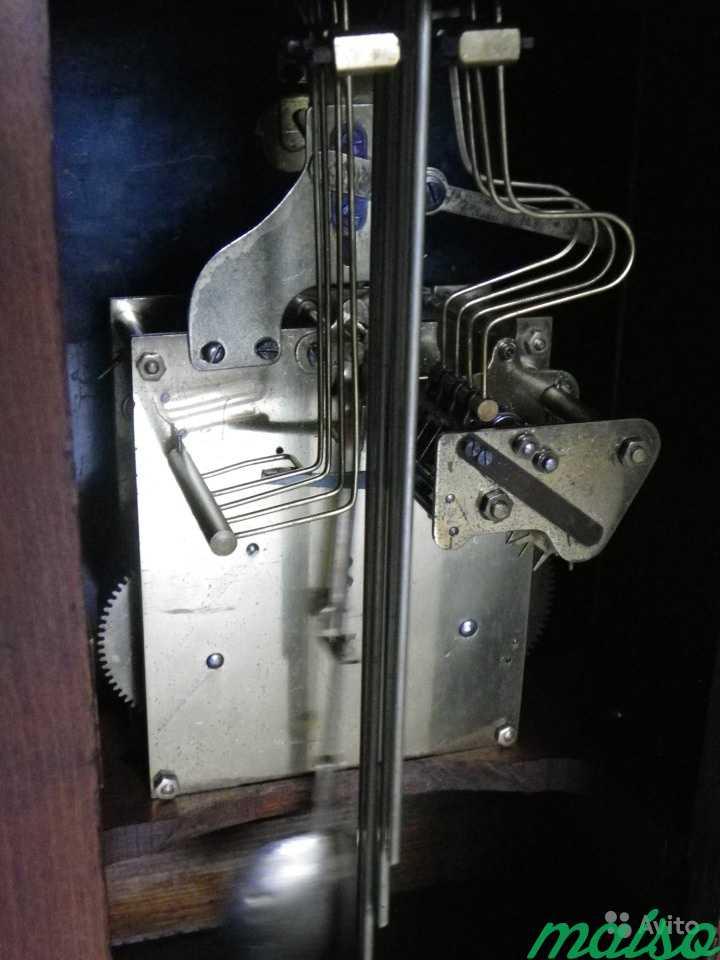 Старинные четвертные немецкие часы(к.-19 века.) в Москве. Фото 9