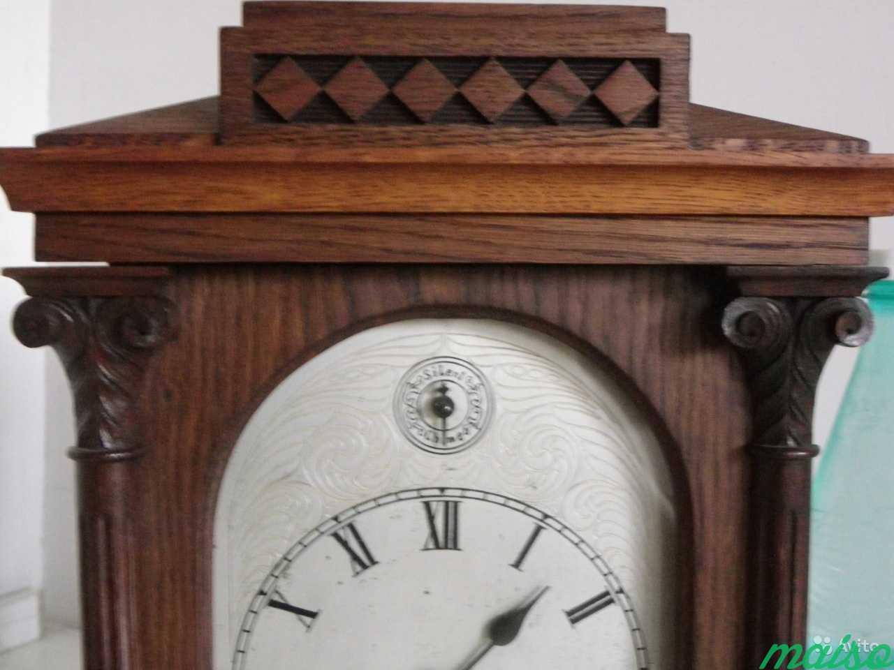 Старинные четвертные немецкие часы(к.-19 века.) в Москве. Фото 3