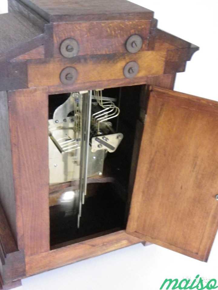 Старинные четвертные немецкие часы(к.-19 века.) в Москве. Фото 5