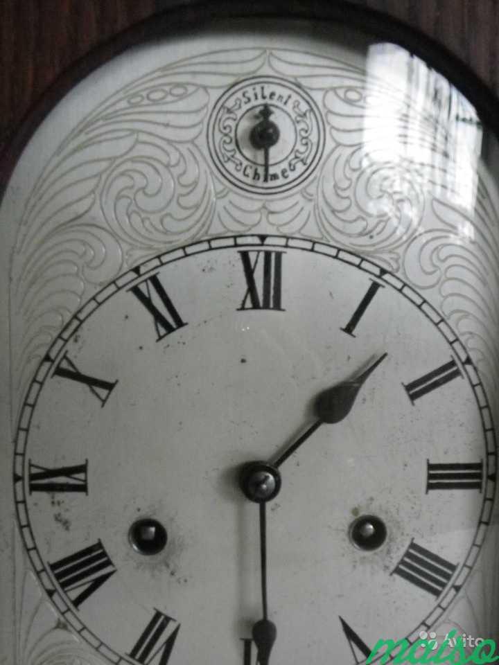 Старинные четвертные немецкие часы(к.-19 века.) в Москве. Фото 4