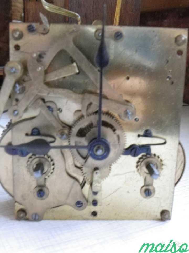 Старинные четвертные немецкие часы(к.-19 века.) в Москве. Фото 7
