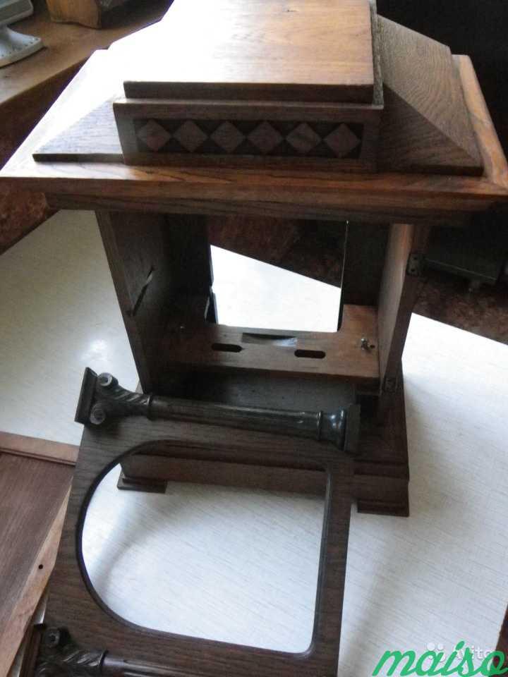 Старинные четвертные немецкие часы(к.-19 века.) в Москве. Фото 10