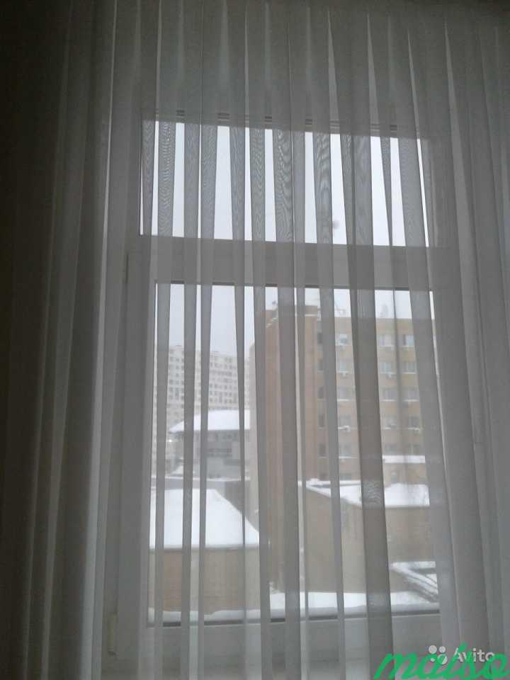 Штора тюль белая в Москве. Фото 1
