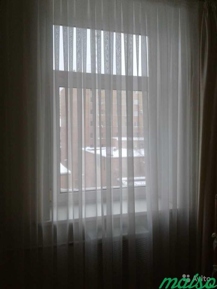 Штора тюль белая в Москве. Фото 2