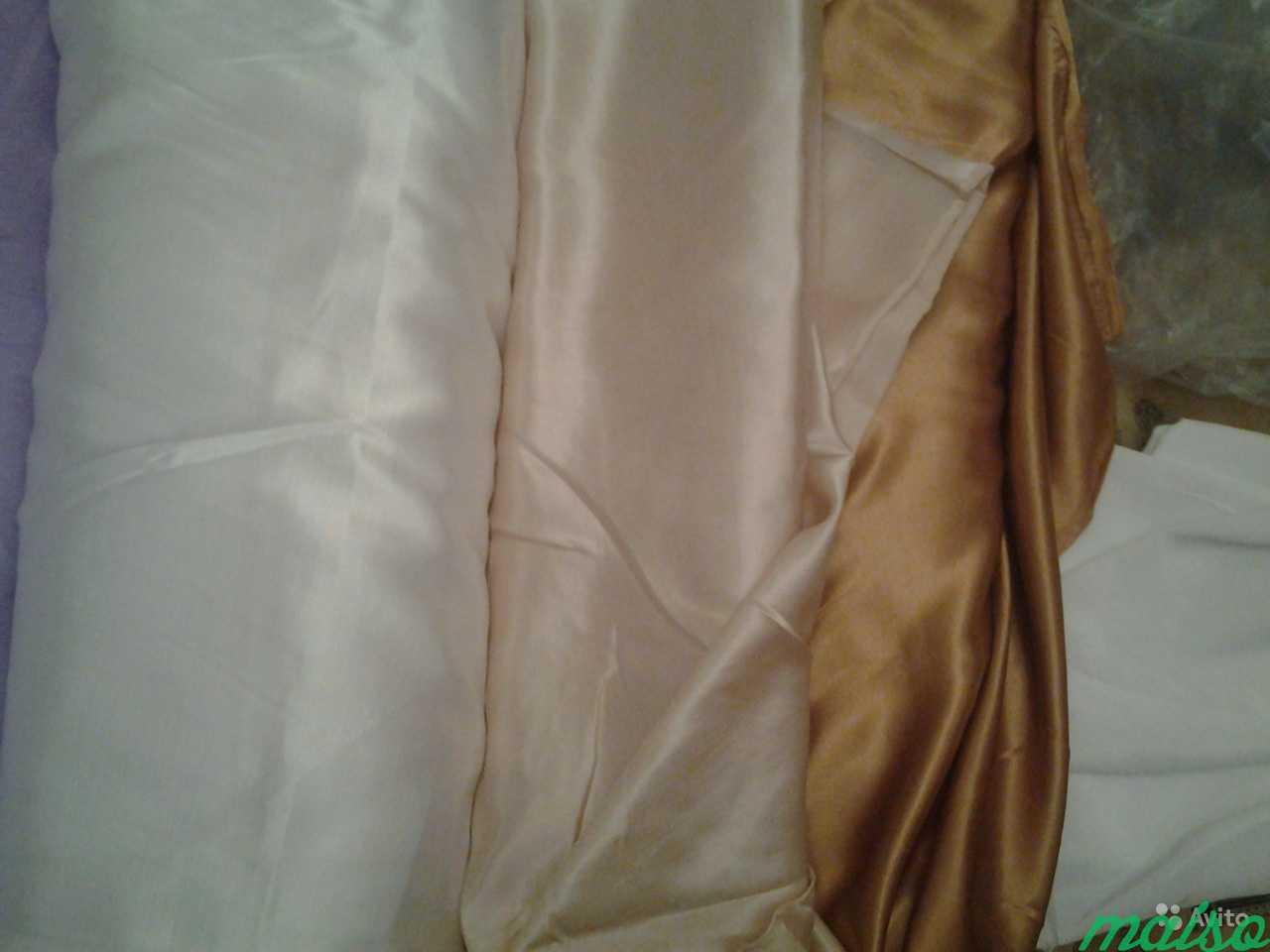 Портьерная ткань шанзелизе, вуаль в Москве. Фото 2