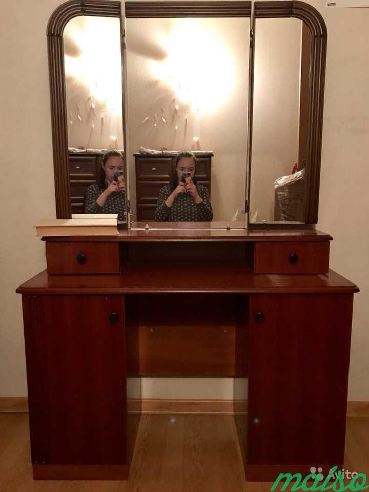 Туалетный столик с зеркалом в Москве. Фото 1
