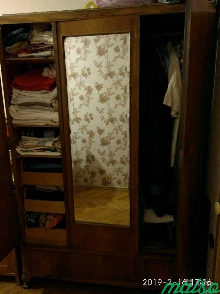 Шкаф гардероб с зеркалом в Москве. Фото 2