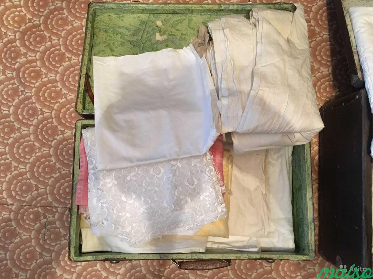 Продам два чемодана советского белья в Москве. Фото 2