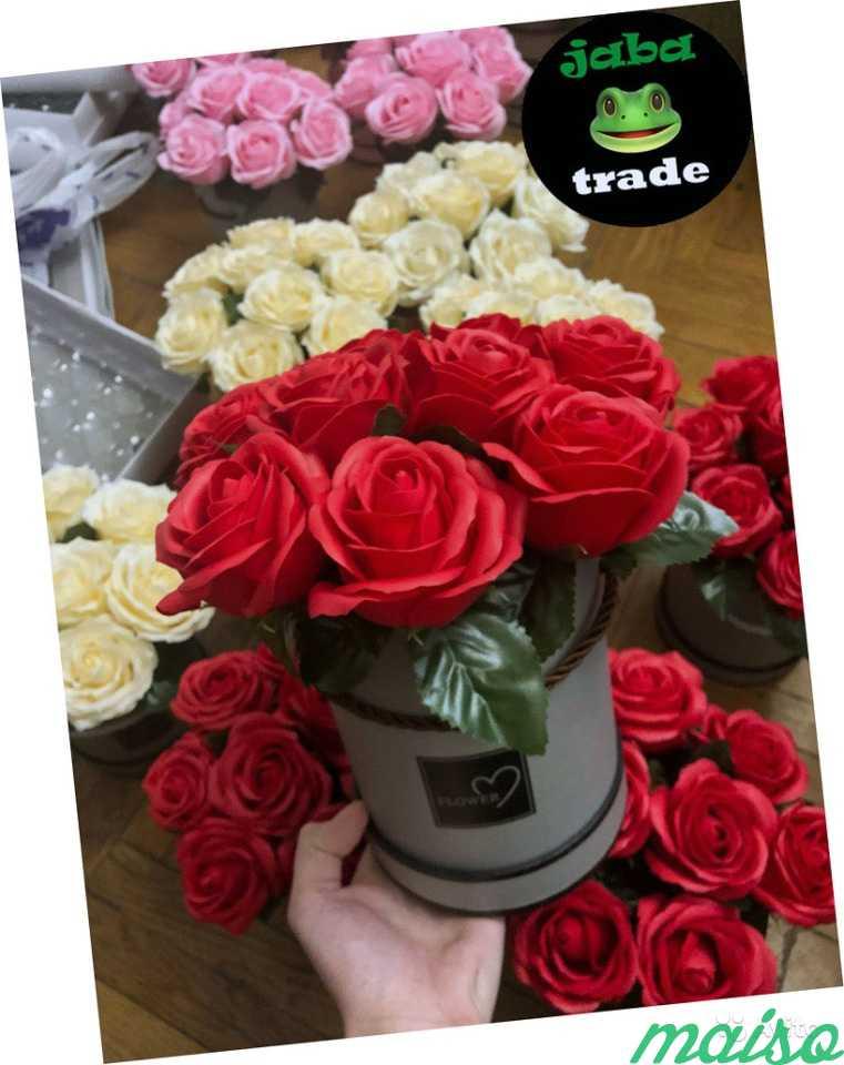 Мыльные розы в Москве. Фото 1