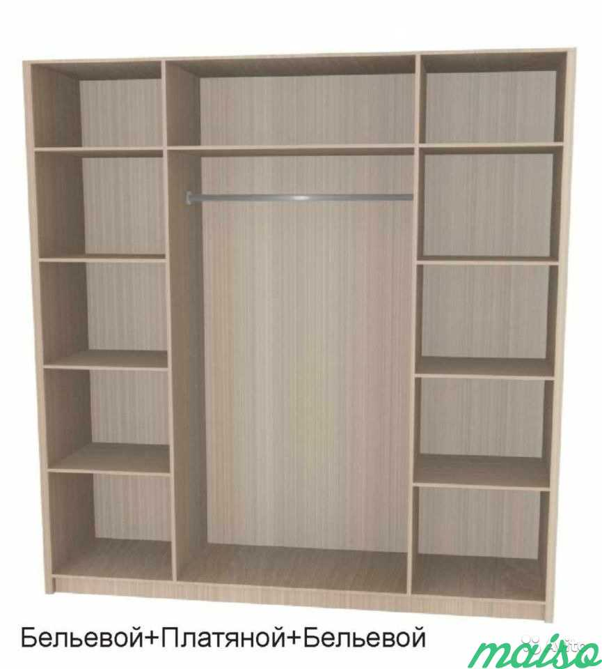 Распашной шкаф Дизайн-люкс новый с доставкой в Москве. Фото 6