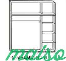 Распашной шкаф Дизайн-люкс новый с доставкой в Москве. Фото 5
