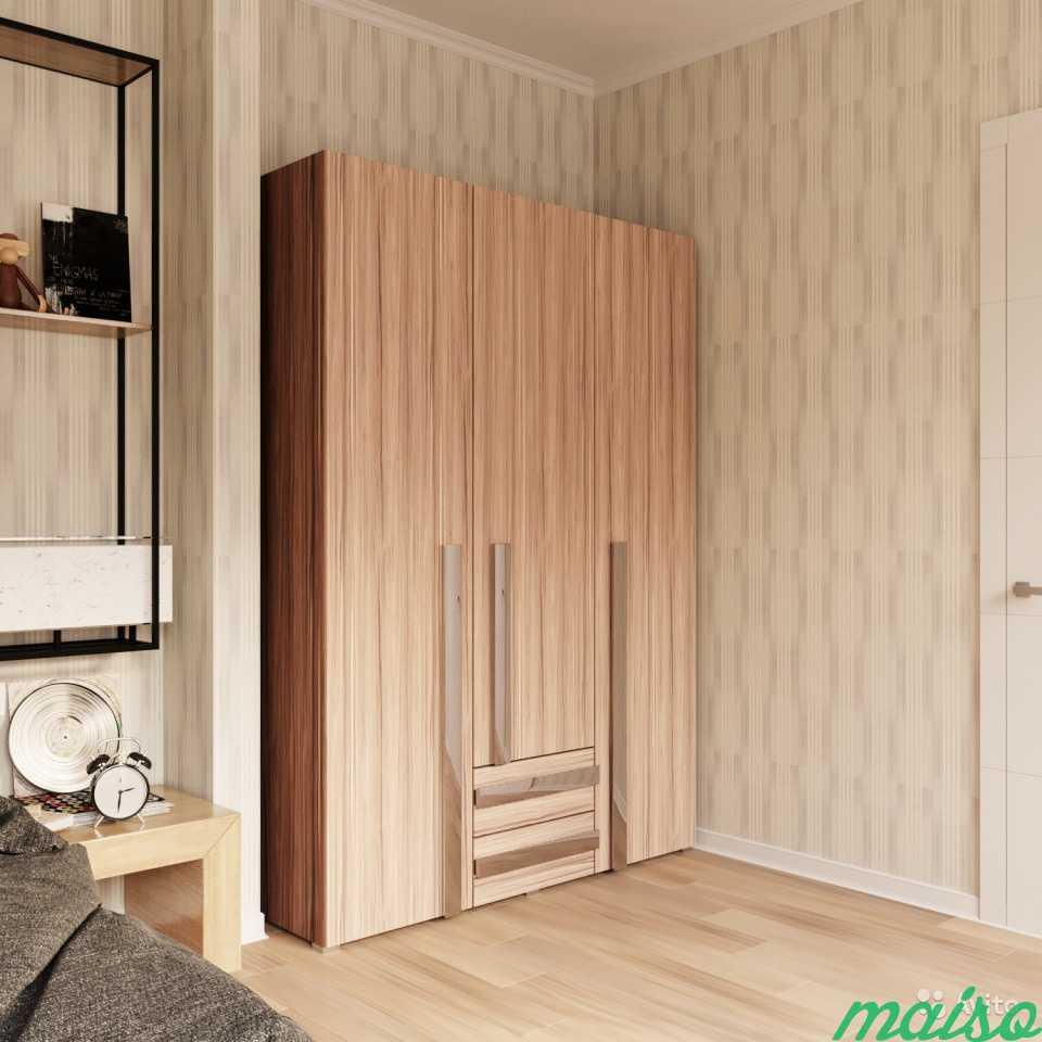 Распашной шкаф Дизайн-люкс новый с доставкой в Москве. Фото 2