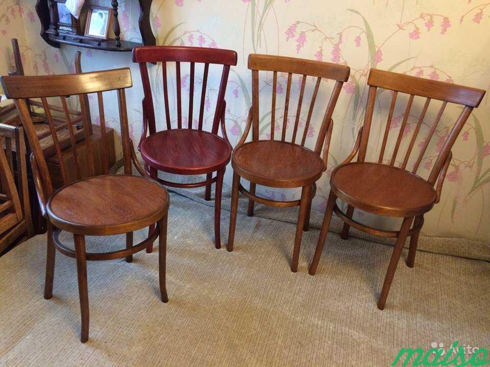 Восстановленные венские стулья в Москве. Фото 3