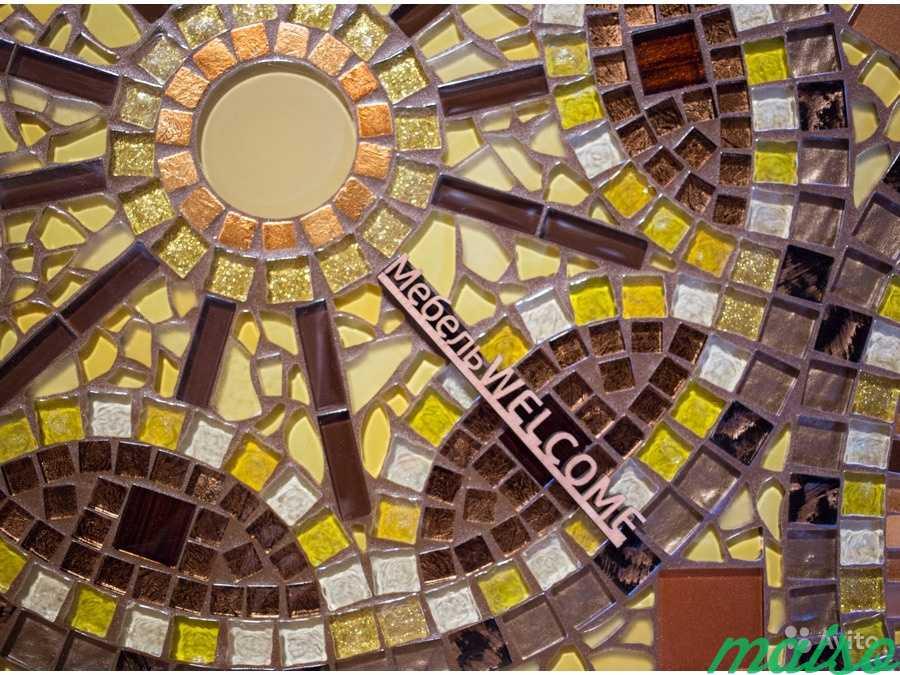 Круглый стол мозаика в Москве. Фото 3