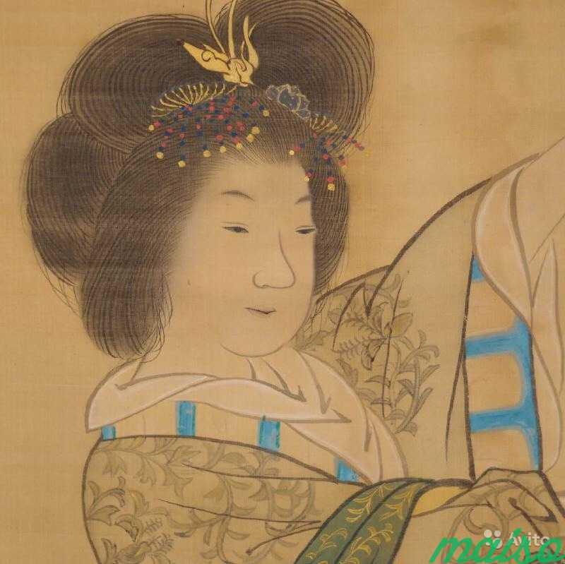 Японский свиток «Царица Запада» в Москве. Фото 2
