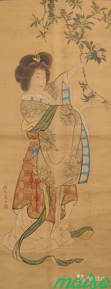 Японский свиток «Царица Запада» в Москве. Фото 3