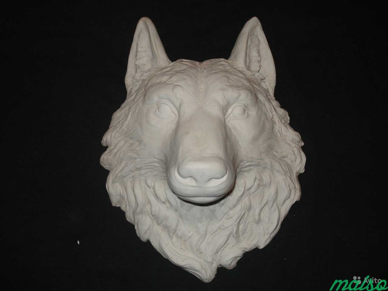 Барельеф Голова волка в Москве. Фото 1