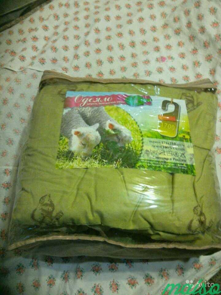Одеяло Шерсть британской овцы в Москве. Фото 1