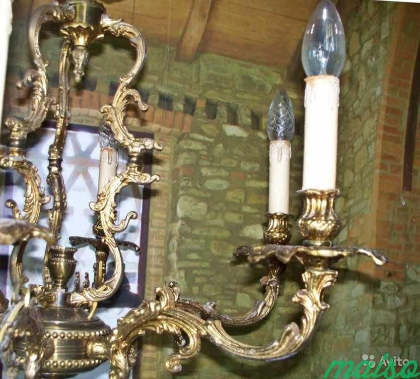 Стартнная люстра в Москве. Фото 5