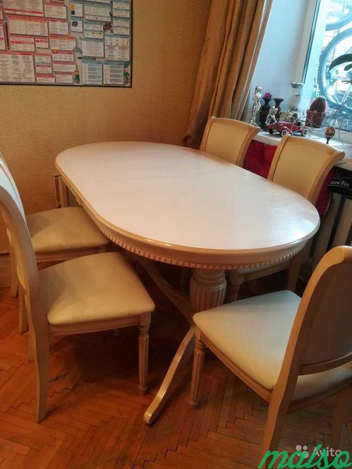 Стол с стульями в Москве. Фото 2