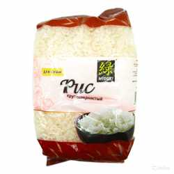 Рис для суши круглозернистый Мидори 450г