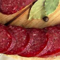 Говяжья сыровяленая колбаса. Очень вкусная