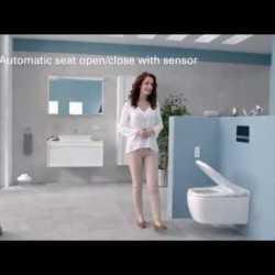 Электронный унитаз VitrA V-Care Comfort