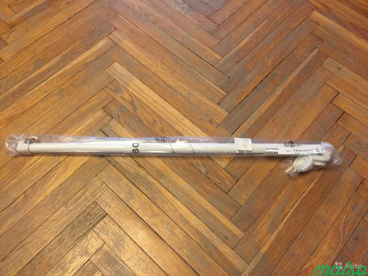 Штанга для шторы в ванную ботарен (Икея) 70-120 см в Москве. Фото 1