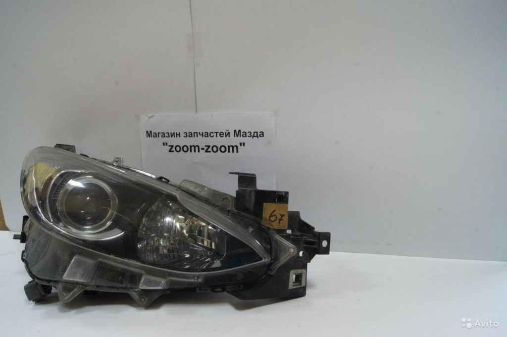 Mazda 3 BM фара правая галоген №67 в Москве. Фото 1