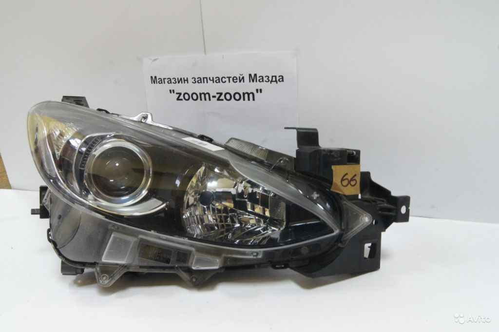 Mazda 3 BM правая фара галоген №66 в Москве. Фото 1