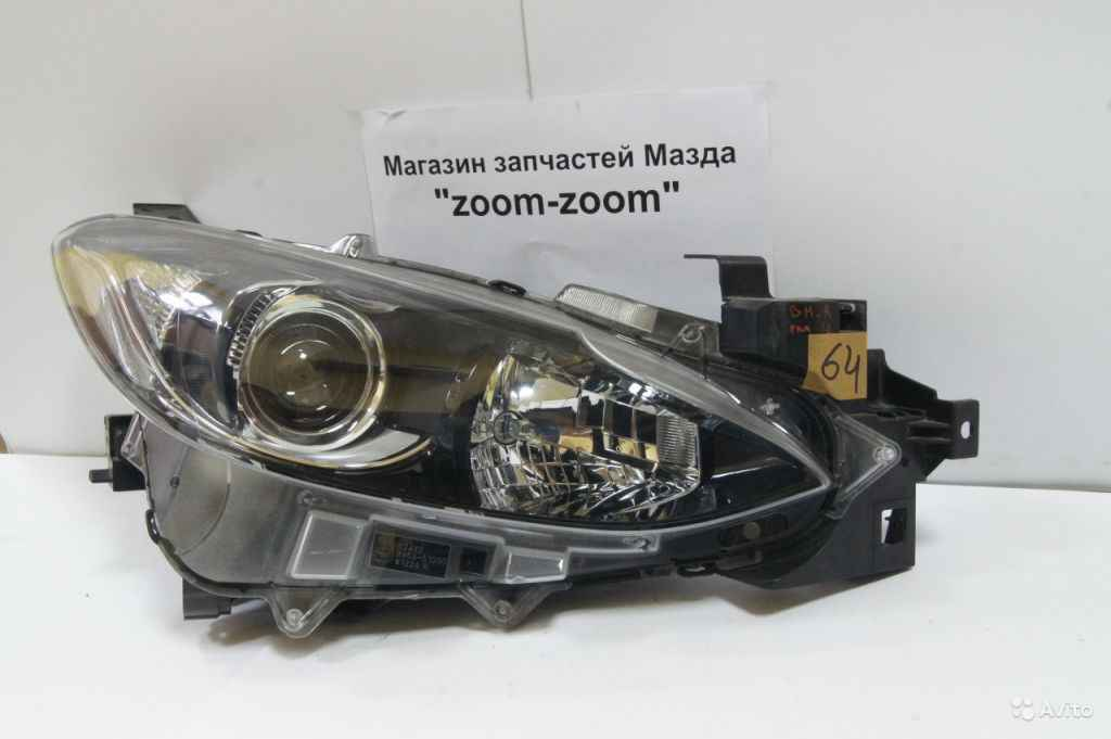 Mazda 3 BM правая фара галоген В сборе №64 в Москве. Фото 1