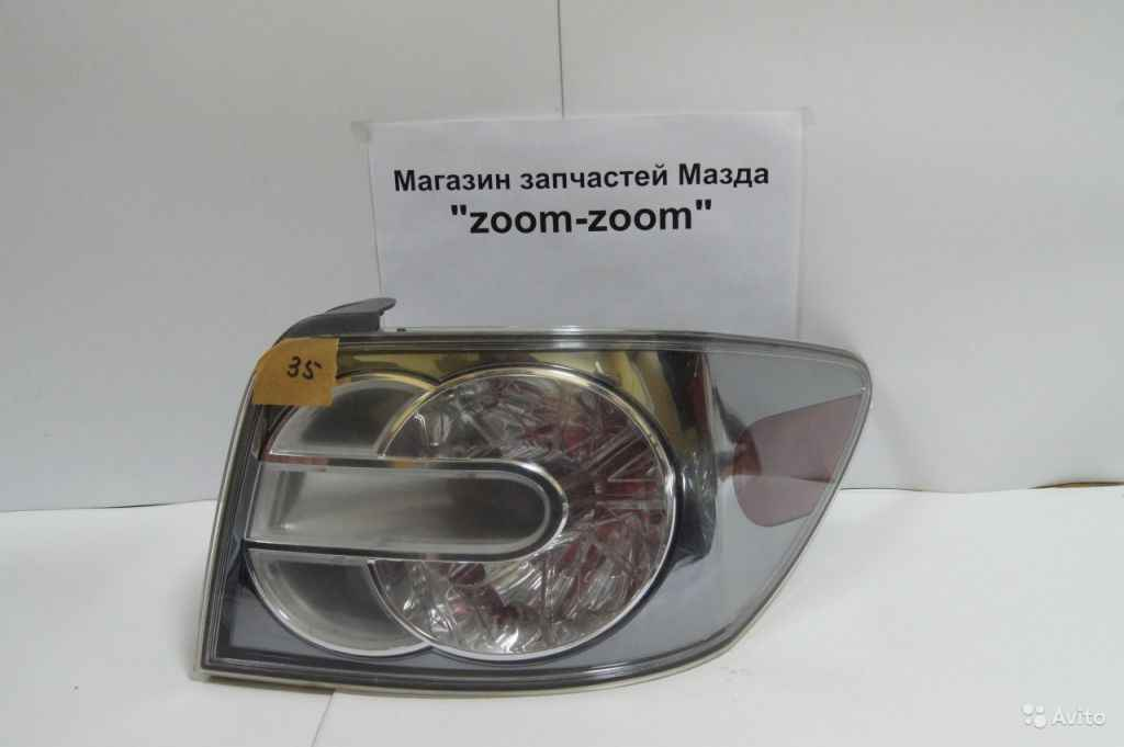 Mazda CX7 фонарь задний правый №35 в Москве. Фото 1